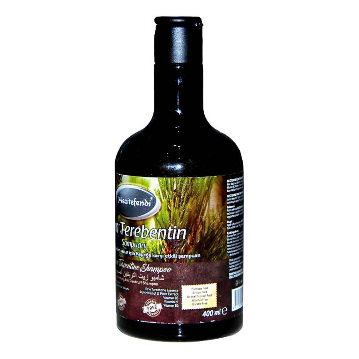 Mecitefendi Çam Terebentin Şampuanı 400 ML ürünü LokmanAVM EPttAVM mağazamızdan güvenle satın alabilirsiniz.